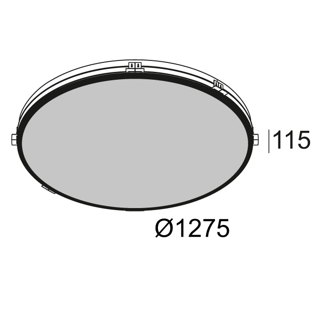 SUPERNOVA LINE TRIMLESS 12583 DIM5